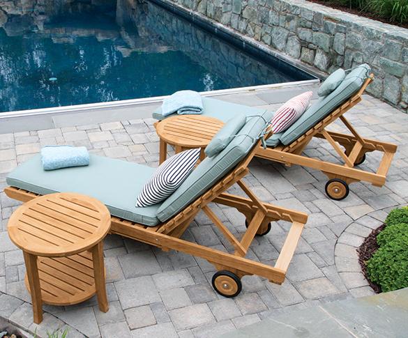 Teak Lounge Furniture. McLean, VA. Country Casual ...
